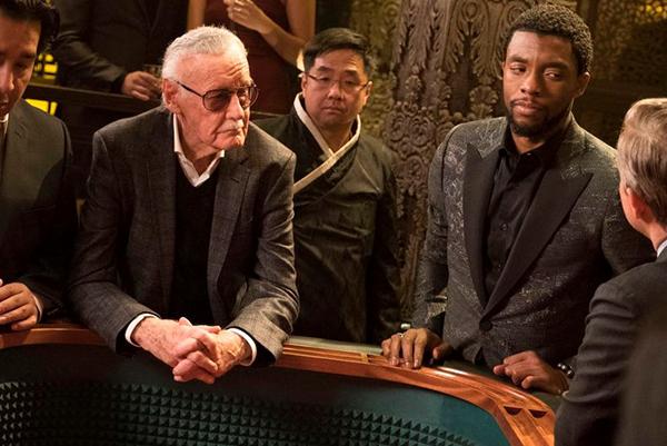 Stan lee in Black Panther