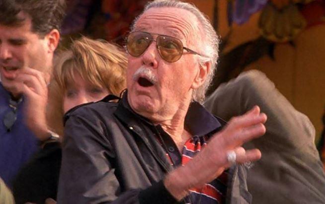 Stan Lee in Spiderman