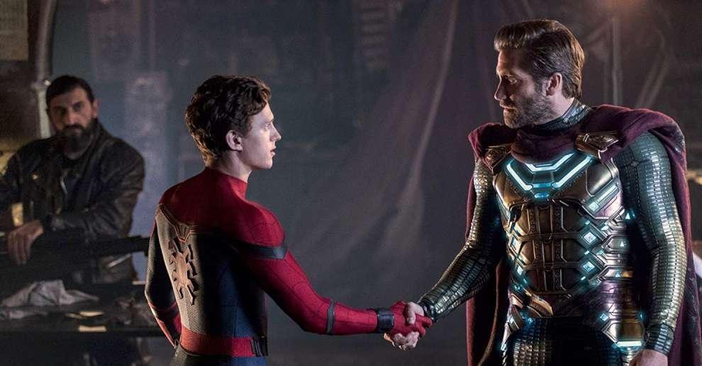 Spider-man e Mysterio