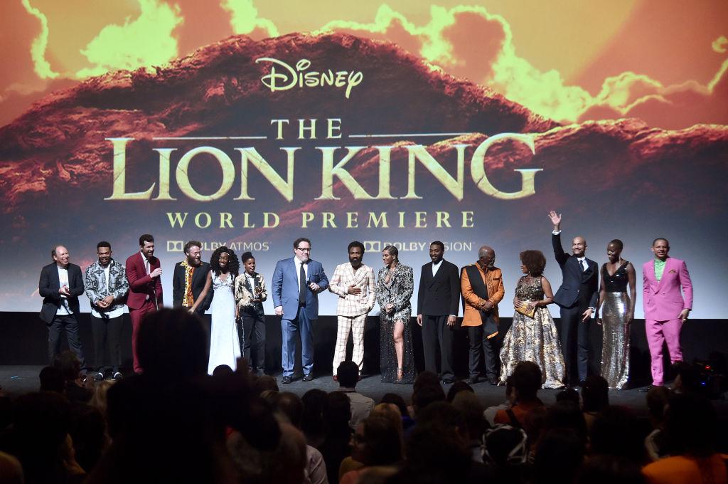 Premiere il Re Leone, il Red Carpet si Infiamma