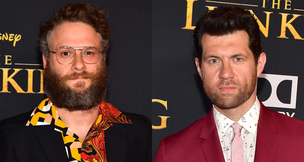 Seth Rogen e Billy Eichner