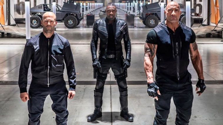Hobbs, Shaw e Idris Elba