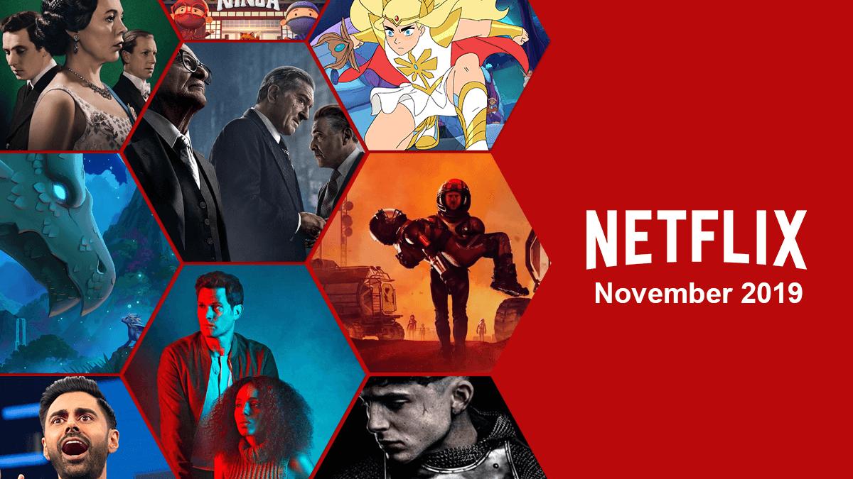 Novità Netflix in uscita a Novembre 2019