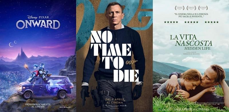 Film al cinema: Arriva la primavera e con essa una ricchissima produzione cinematografica
