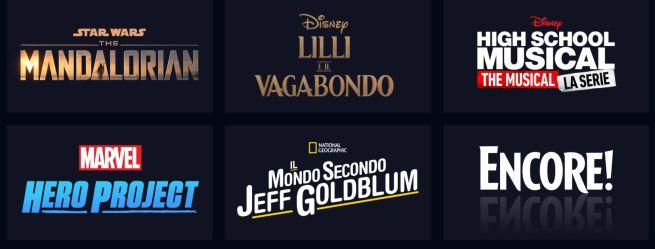 catalogo Disney+
