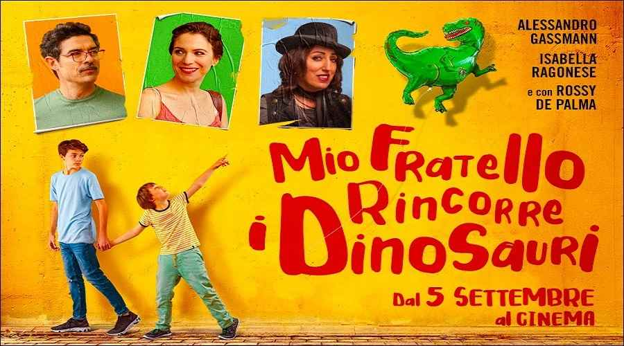 recensione Mio fratello rincorre i dinosauri