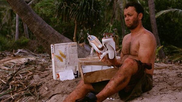 Cast Away con Tom Hanks