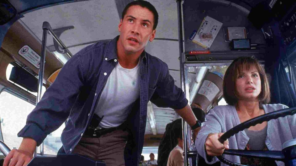 Recensione Speed con Keanu Reeves e Sandra Bullock