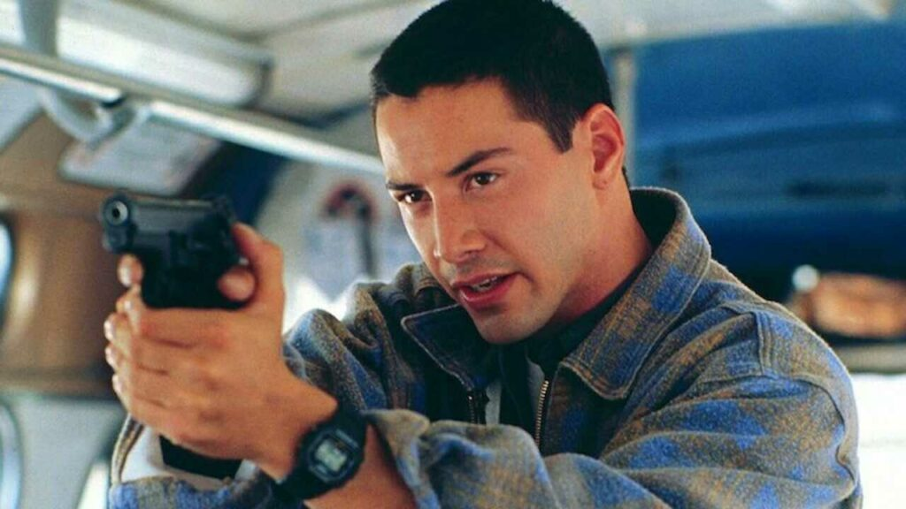 Speed con Keanu Reeves