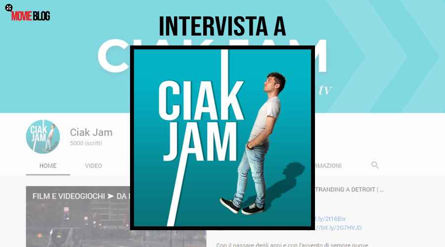 Intervista a Ciak Jam Youtuber a tema Cinema