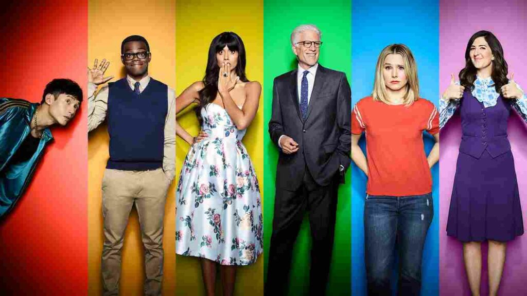Cast The Good Place