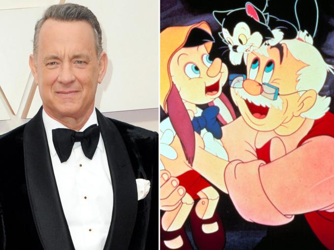 Tom Hanks sarà Geppetto