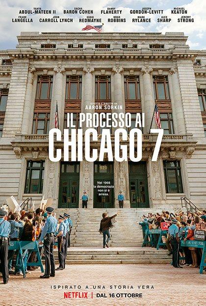 Il processo ai Chicago 7 locandina