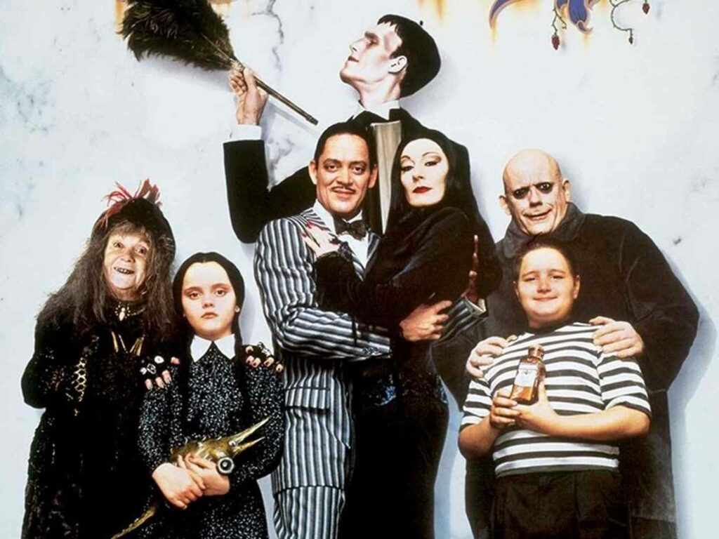 La famiglia Addams sta tornando, reboot di Tim Burton