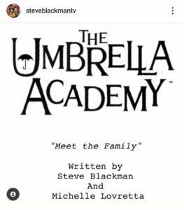 The Umbrella Academy copione